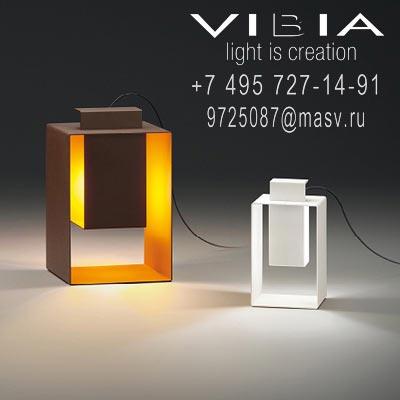 Vibia PORT 1 x COMPACT FLUORESCENT G9 230V 9W (MEGAMAN)