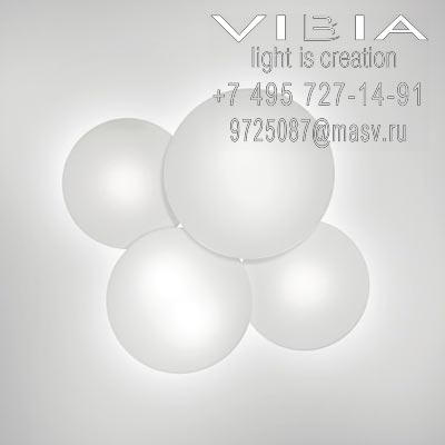 Vibia PUCK 6 x COMPACT FLUORESCENT GX53 230V 9W