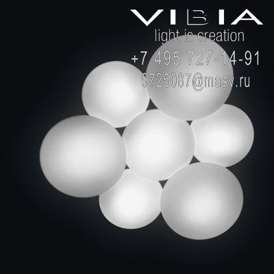 Vibia PUCK 11 x COMPACT FLUORESCENT GX53 230V 9W