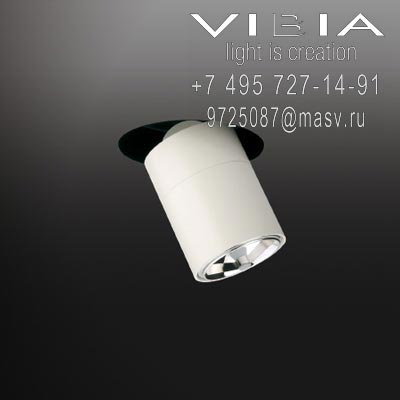 Vibia STAGE 1 x QR111 12V 60W ALU 24º (REFLECTOR WITHOUT GLASS) <br> 1 x MASTER LEDspotLV