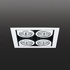 8148 CORNER потолочный светильник Vibia