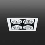 8153 CORNER потолочный светильник Vibia