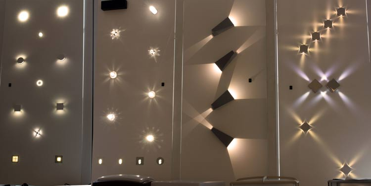 FLAN LED 4526.01 настенный светильник, потолочный светильник, projectors,, Egoluce
