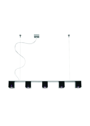 Подвесной светильник Fabbian Cubetto Black Glass D28 A06 02