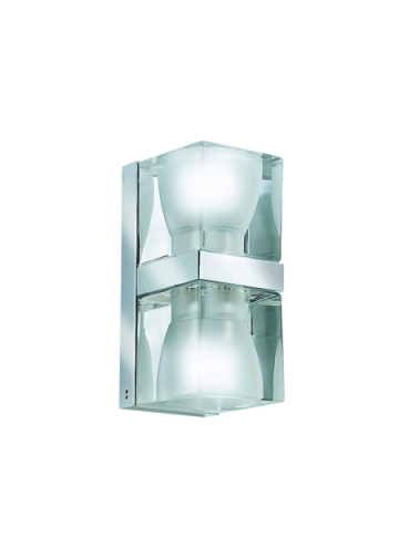 Бра Fabbian Cubetto Crystal Glass D28 D01 00