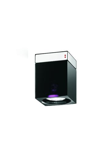 Потолочный светильник Fabbian Cubetto Black Glass D28 E01 02
