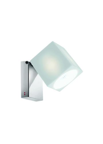 Настенно-потолочный светильник Fabbian Cubetto White Glass D28 G03 01