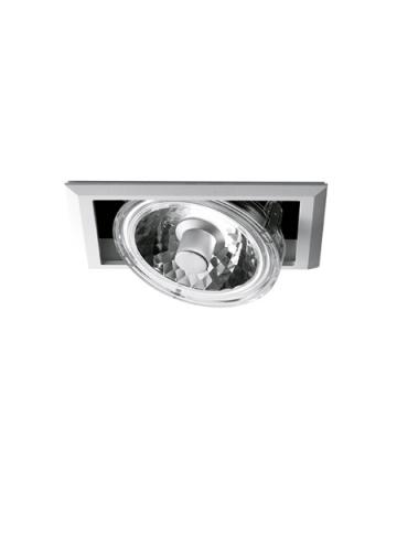 Встраиваемый спот (точечный светильник) Fabbian Plano D90 F07 01