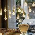 Baklite et porcelaine Zangra gold, 6cm, H5cm подвесной светильник ceilinglamp.006.001.textilecable.004.002.300cm