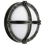 606230 Albert накладной светильник 75W, E27, серебристо-чёрный