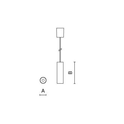 чертеж STILO Arcluce подвесной светильник 0230021A-930-11