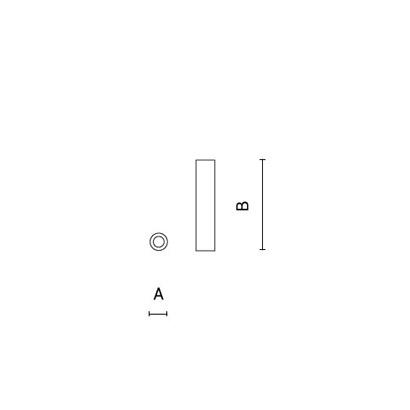 чертеж STILO Arcluce потолочный светильник 0261017A-930-11