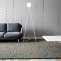 One Globe Atelier Areti white, LED, L48cm, H175cm напольный светильник One-Globe-Floor-White-slanted-based
