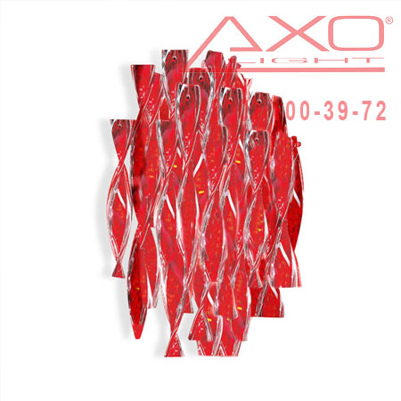 AXO Light AURA APAURAXXRSCRE27 бра красный