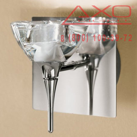 AXO Light PRIMULA APPRI1BRCSCR12V бра прозрачное стекло