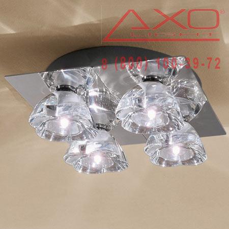 AXO Light PRIMULA PLPRIMU4CSCR12V потолочный светильник прозрачное стекло