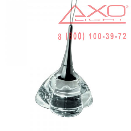 AXO Light PRIMULA SPPRIMP1CSCR12V подвесной светильник прозрачное стекло