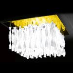 AXO Light AURA PLAUG30ICSORE27 потолочный светильник прозрачное стекло