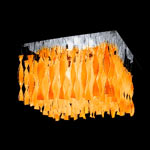 AXO Light AURA PLAUP30IARCRE27 потолочный светильник оранжевый