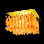 AXO Light AURA PLAUP30IARORE27 потолочный светильник оранжевый