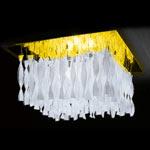 AXO Light AURA PLAUP30ICSORE27 потолочный светильник прозрачное стекло