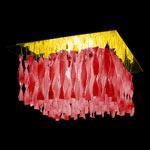 AXO Light AURA PLAUP30IRSORE27 потолочный светильник красный