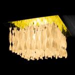 AXO Light AURA PLAUP30ITAORE27 потолочный светильник чайный цвет