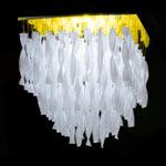 AXO Light AURA PLAURAGRBCORE27 потолочный светильник белый