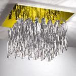 AXO Light AURA PLAURAGRCSORE27 потолочный светильник прозрачное стекло