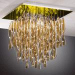 AXO Light AURA PLAURAGRTAORE27 потолочный светильник чайный цвет