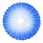AXO Light MUSE PLMUSE80BLXXE27 потолочный светильник синий