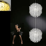 AXO Light AURA SPAU452CSORE27 подвесной светильник прозрачное стекло
