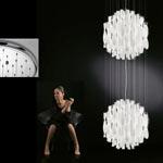 AXO Light AURA SPAU602BCCRE27 подвесной светильник белый
