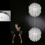 AXO Light AURA SPAU602CSCRE27 подвесной светильник прозрачное стекло