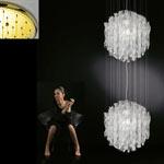 AXO Light AURA SPAU602CSORE27 подвесной светильник прозрачное стекло