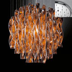 AXO Light AURA SPAURA45ARCRE27 подвесной светильник оранжевый