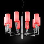 AXO Light SUBZERO SPSUBZ10RSCRE14 подвесной светильник красный