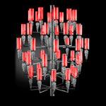 AXO Light SUBZERO SPSUBZ50RSCRE14 подвесной светильник красный