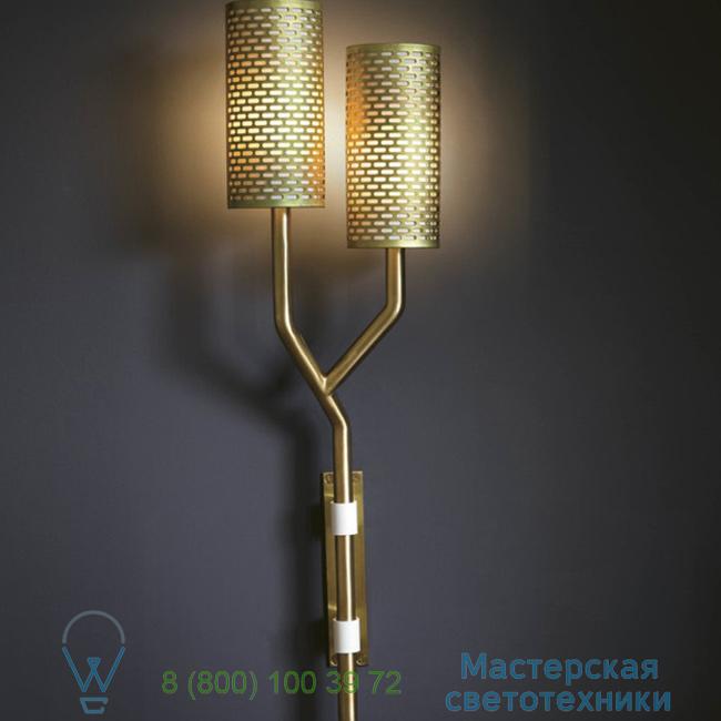 фотография Yew Bert Frank brass, white, LED, 23cm, H73cm настенный светильник 0