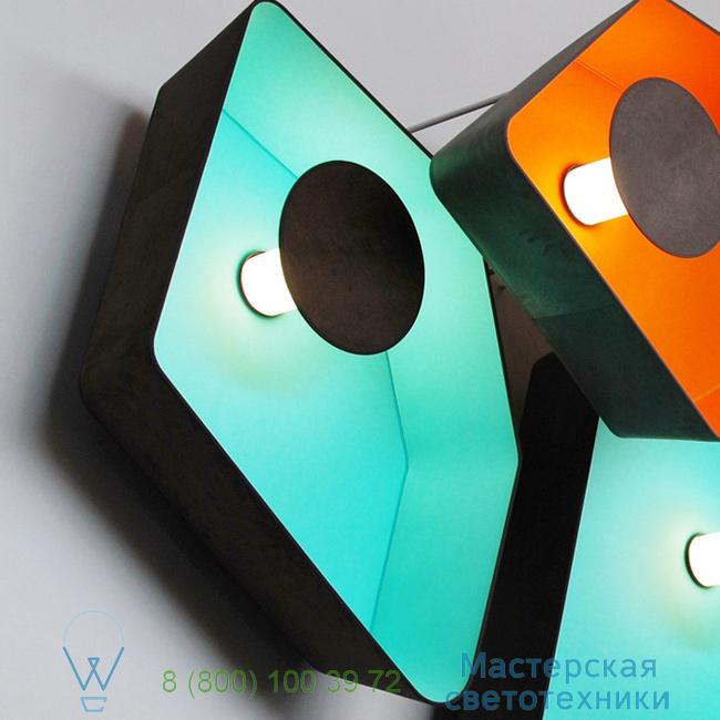 фотография Petit Nnuphar DesignHeure turquoise, L90cm настенный светильник A90nledmt 0