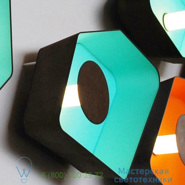 фотография Petit Nnuphar DesignHeure turquoise, L90cm настенный светильник A90nledmt 1