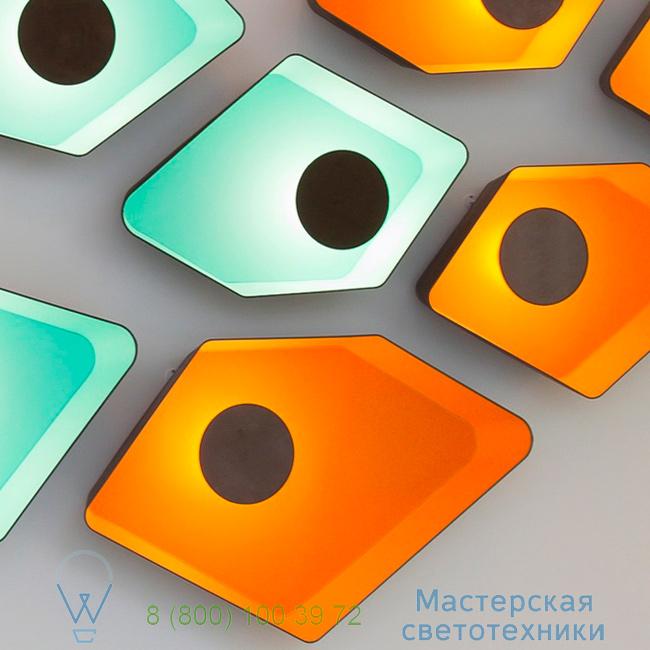 фотография Petit Nnuphar DesignHeure turquoise, L90cm настенный светильник A90nledmt 2