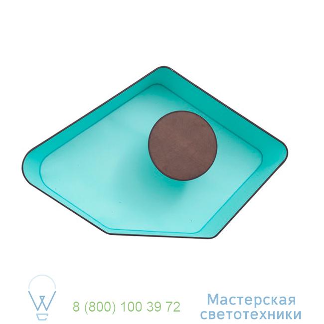 фотография Petit Nnuphar DesignHeure turquoise, L90cm настенный светильник A90nledmt 4