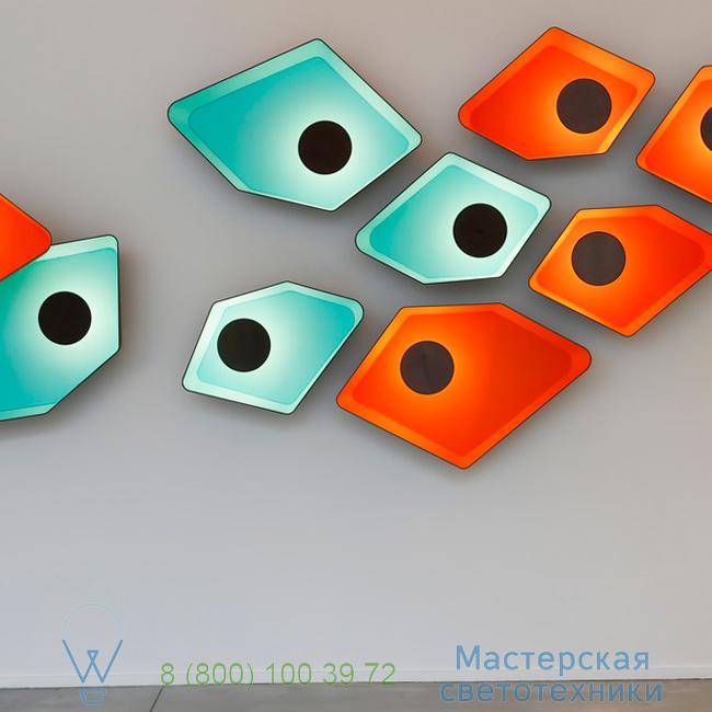 фотография Petit Nnuphar DesignHeure turquoise, L90cm настенный светильник A90nledmt 7
