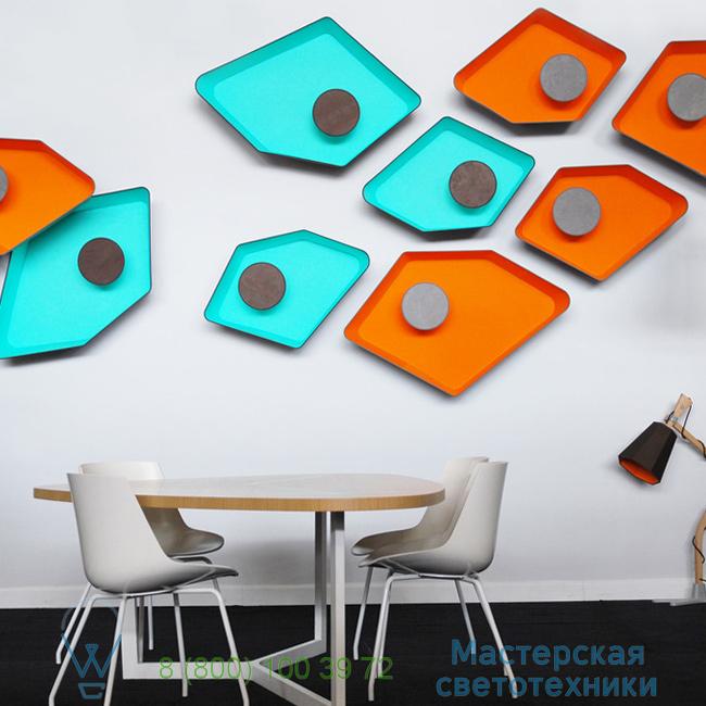 фотография Petit Nnuphar DesignHeure turquoise, L90cm настенный светильник A90nledmt 8