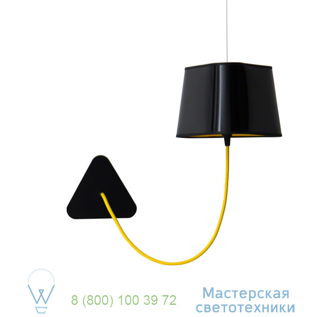 фотография Petit Nuage DesignHeure yellow, 24cm настенный светильник Aspnnj 0