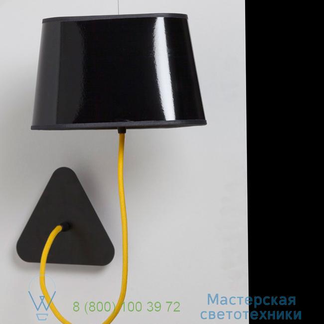 фотография Petit Nuage DesignHeure yellow, 24cm настенный светильник Aspnnj 1