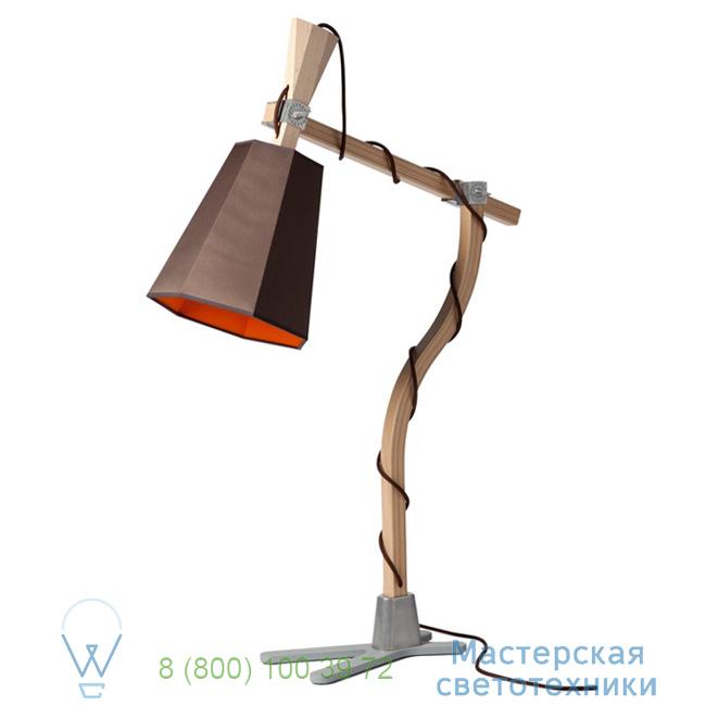 фотография LuXiole DesignHeure orange, H98cm настольная лампа L98lmo 3