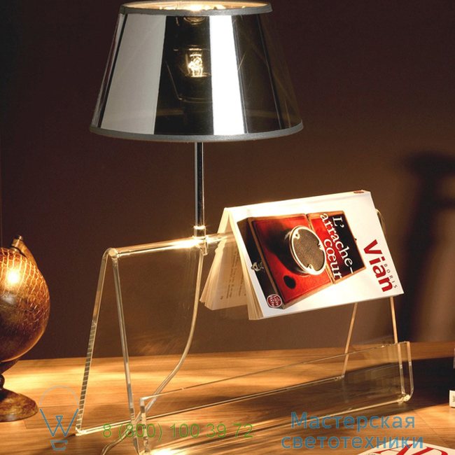 фотография L'Empirique DesignHeure transparent, H42cm настольная лампа Lpea 0