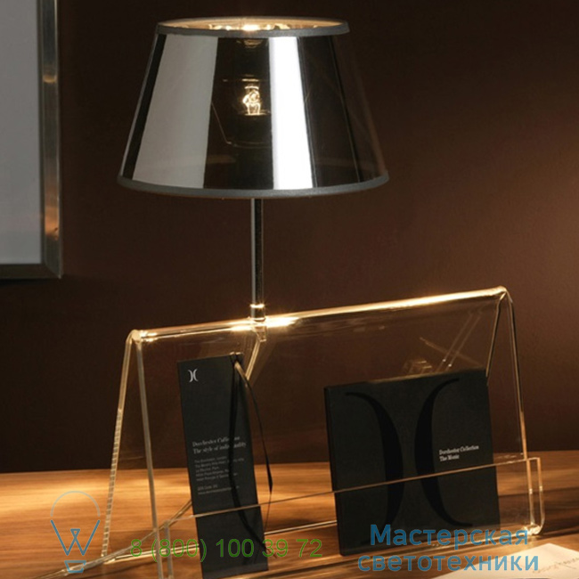 фотография L'Empirique DesignHeure transparent, H42cm настольная лампа Lpea 1